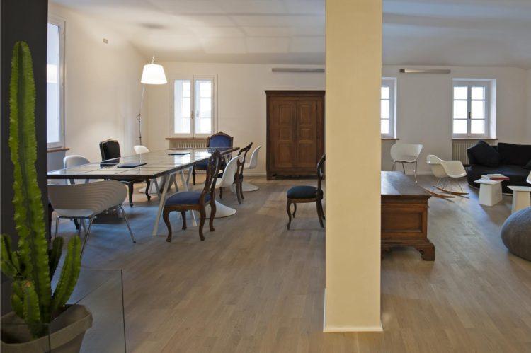 Zona living appartamento_Post ristrutturazione